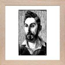 Portrait of Jacques Raverat 2 - Ready Framed